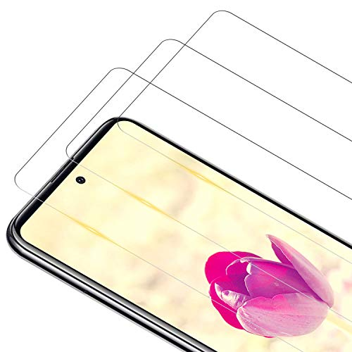 RIIMUHIR Verre Trempé pour Samsung Galaxy A51, [3 Pièces] 9H Dureté Film de Protection d'écran en Verre Trempé, Anti-Rayures, sans Bulles, Haute Sensibilité, Vitre Samsung A51