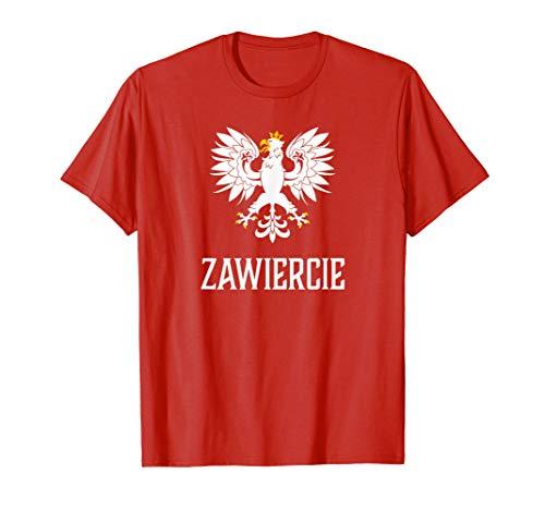 Zawiercie, Poland - Polish Polska T-shirt