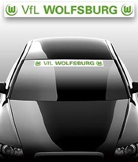 Autoaufkleber Aufkleber Sticker VfL Wolfsburg groß