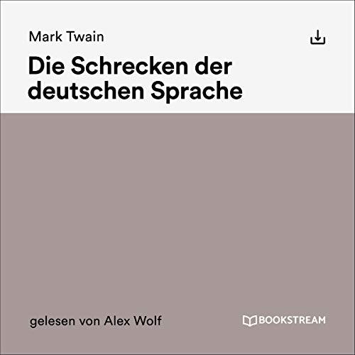 Die Schrecken der deutschen Sprache cover art
