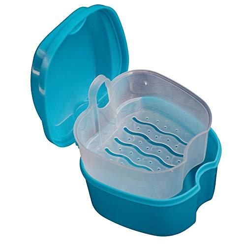 Createjia Gebiss-Kasten-Behälter-zahnmedizinischer Zahn-Speicher-Bad-Kasten Mit Sieb 96 94 68mm