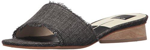 Dolce Vita Women's ADALEA Slide Sandal, ASH DENIM, 9.5 M US