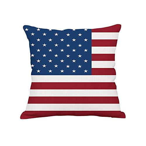 Beito Cuscino Gettare Copertina American Flag Modello Quadrato Federa casa Divano Decor Bandiera Nazionale di Copertura del Cuscino 1Pc