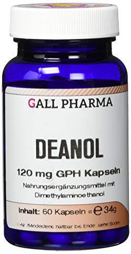 Gall Pharma Deanol 120 mg GPH Kapseln, 60 Kapseln