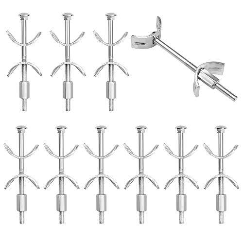 10 Pezzi di Piano di Lavoro Connettore Set, Connettore per Mobili M6 x 100 mm Connettore a Farfalla per il Collegamento di Più Banchi da Lavoro