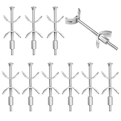 10 Stücke Arbeitsplattenverbinder Schrauben Möbelverbinder Schrauben Massivholzverbinder 100mm Arbeitsplatte Verbindungsschraube Möbel-Verbinder mit M6 Gewinde