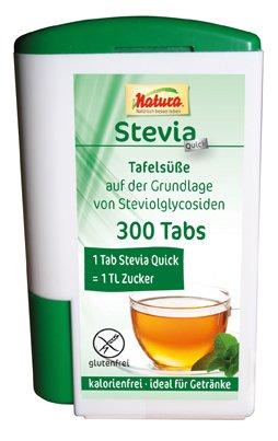 Natura Stevia Quick Tabs, 18 g