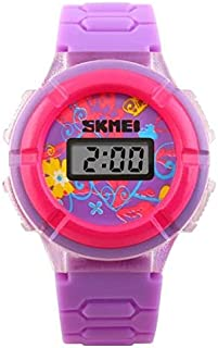 Relógio Infantil Skmei Digital 1097 Roxo