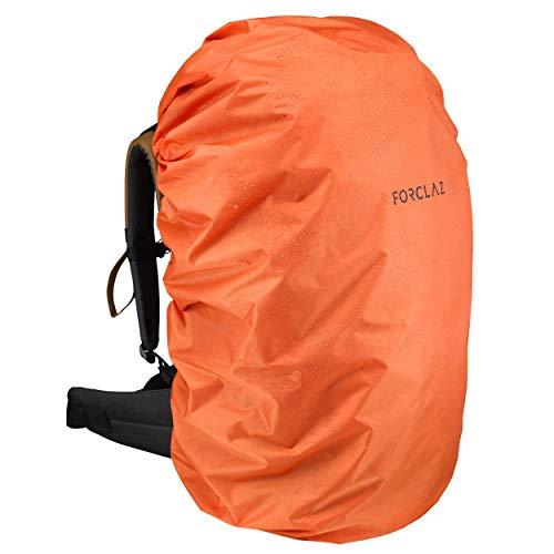 Forclaz 8559841 Other Trekking Basic Rain Cover for Backpack – 70/100l (Orange)