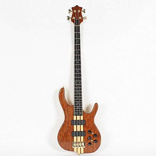 MLKJSYBA Guitarra 4 Cuerdas Eléctricas Guitarra Eléctrica Arce Cuerpo Guitarra Cuerda Acero...