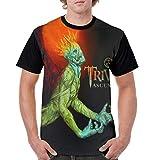 PeterLLowery Trivium Ascendancy Men's Baseball T Shirt Cotton Short Sleeves Tee Shirt Black