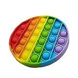 PUTOWUT Pop Bubble Sensory Fidget Toy Giocattolo Sensoriale Silicone per Bambini Autismo Bisogno Speciale Antistress Ansia Sollievo Colorful Giocattoli a Bolle