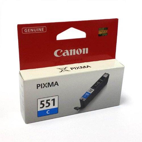 CLI-551Cian cartucho de tinta Original Canon Pixma 551CLI551genuino Canon