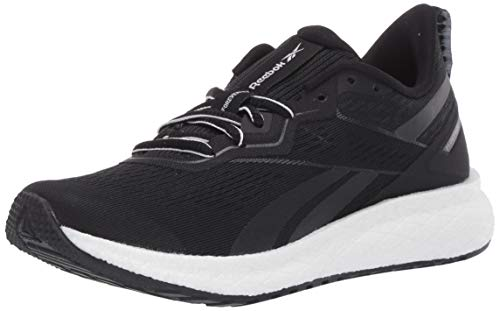 Reebok Women's Forever Floatride Energy 2, Black/Black/White, 9.5 M US