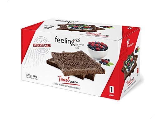 Fooditalia - FeelingOK Start - Protein Toast-Zwieback Kakao - 160g