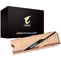 GIGABYTE AORUS 500GB 3D TLC PCIe 4.0 M.2 2280 BiCS4 Solid State Drive