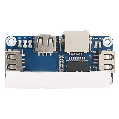 Wosume Electronic Component Practical 4B/Zero W Durable Power Expansion Board, for Raspberry Pi Computer(expanding board)