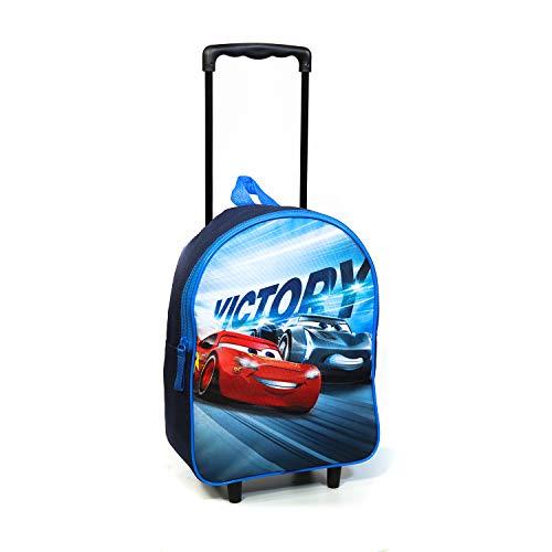 Mochila con ruedas de 31 cm de Disney Cars azul marino Bagtrotter