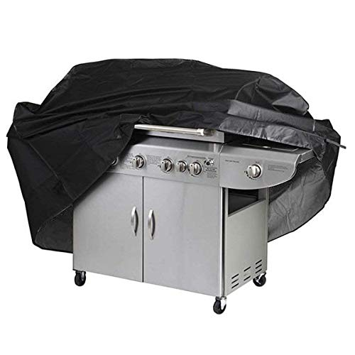 Herefun Copertura per la griglia da Barbecue, 210D Panno Oxford Copertura Barbecue Impermeabile Telo Protettivo, Resistente ai Colpi, Raggi UV e all'Acqua (170 x 61 x 117cm)