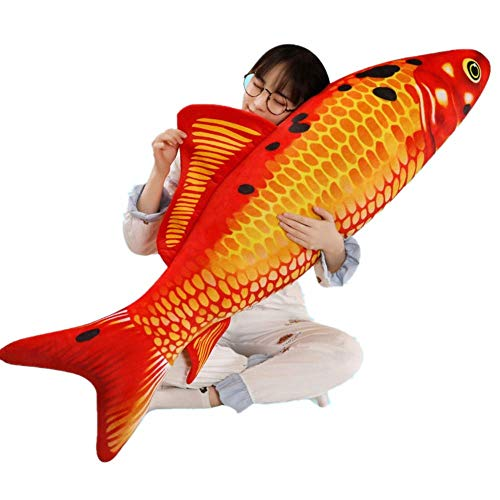 Giant-Simulation Fish Plush Toy/Toy Pillow/Stuffed Animal Toy, Used for Home Decoration Gifts, Toy Pillow (31.5 inches / 80 cm)