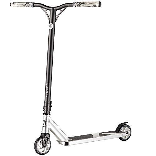 Six Degrees Patinete de aluminio para acrobacias Freestyle manillar reforzado color azul direcci/ón de 360/° rodamientos ABEC 9 ruedas de 100 mm