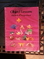 Object Lesson With Origami 0874036399 Book Cover