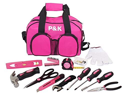 77 teiliges Werkzeugset Pink Geschenkideen