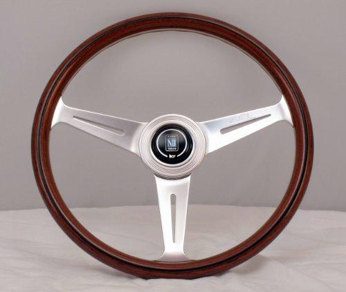 Nardi5061.36.3000 - Volante clásicode 360mm demadera con radios pulidos