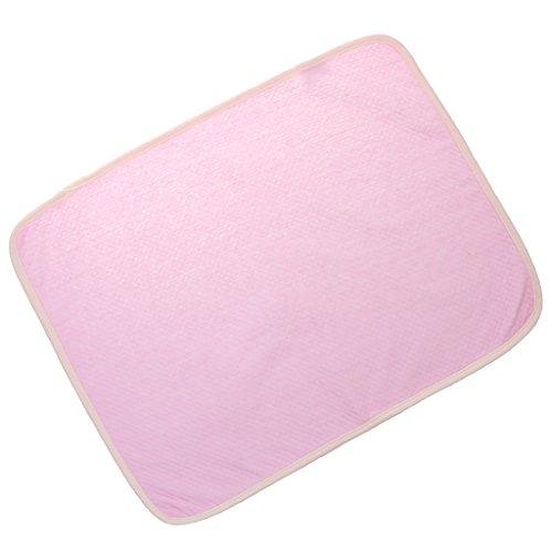 sharprepublic Colchón de Pañales Cambiante Impermeable para Bebés, para Bebés Y Niños Pequeños - Rosado, 35 * 45cm