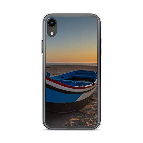 blitzversand Funda para teléfono móvil Boat Trip Relax compatible con LG G5, barco de madera o playa, funda protectora transparente alrededor de protección dibujos animados M15