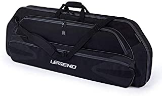 "Legend Monstro Compound Bow Soft Case with Protective Padding - 44"" Interior Storage Space for Hunting Accessories, Arrow Tube Holder and Supplies"