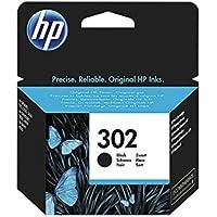1 cartucho de tinta original HP F6U66AE HP 302 HP302 für HP Officejet 4650 (190 páginas con cobertura del 5%), color negro