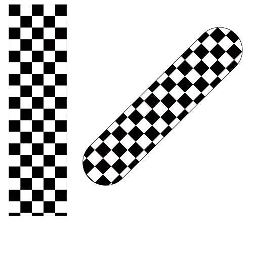 YSTHEZ Skateboard Grip Tape Longboard Griptape Impermeable Grip Tape Hoja Etiqueta Deck Sandpaper Griptape 33x 9 Pulgadas,M