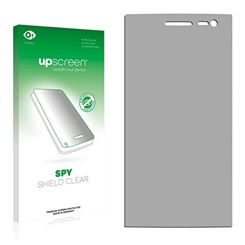 upscreen Protector Pantalla Privacidad Compatible con Mediacom PhonePad Duo X500 Anti-Espia Privacy