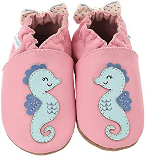 [Robeez] ロビーズ 本革ベビー靴 ソフトソール APMAアメリカ足病学協会認定の赤ちゃん靴 ファーストシューズ ベビーシューズ ベビー靴 室内履き 保育園 上靴 [並行輸入品]
