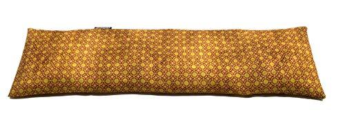 COVERBAGBCN Saco térmico Cervical con Doble Funda con Huesos de Cereza - Granada Vintage