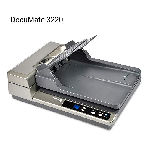 Xerox DocuMate 3220 Duplex Document Scanner with Flatbed