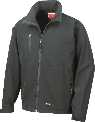 RESULT SOFTSHELL JACKET WATERPROOF LINED EXTRA WARM ACTIVE SPORTS MEN/'S XS-3XL