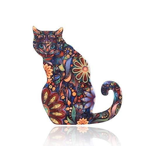 Ogquaton Regalo Colorido Durable de la joyería de la Moda de la Broche de la Boda de la Broche del Insecto de la Rana Linda