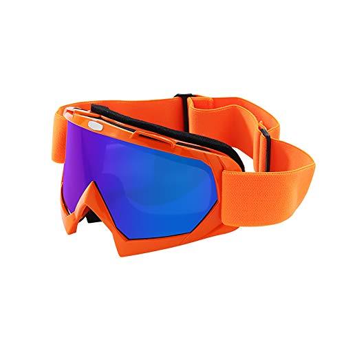 Blssom Skibrille,Schutzbrille Motocross Goggle Sportbrille Schneebrille Wintersport Brille Winddicht Staubschutz Fliegerbrille Snowboardbrille Schneebrille Skibrille Crossbrille