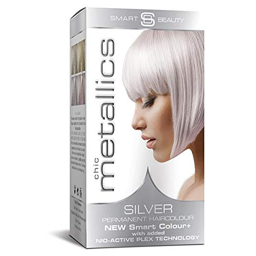 Haarfarbe Metallic Silver Pastel - Permanent Hair Color