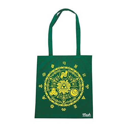 MUSH Borsa LEGEND OF ZELDA - Verde Bottiglia - GAMES by Dress Your Style