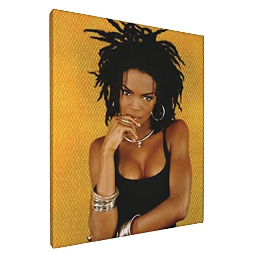 Lauryn Hill Paintings Canvas Wall Art Home Decoration No Framed Celebrity Cartoon Posters 8x10Inch (20X25cm)