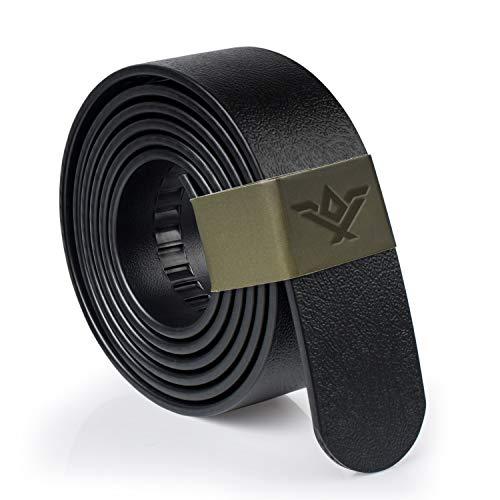 SlideBelts Wide Survival Belt Strap (1.5') - Black