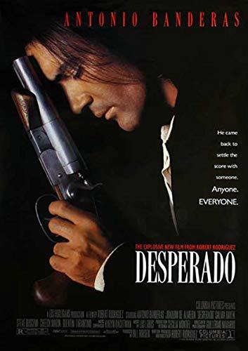 My Little Poster Post Desperado Filmplakat Wandkunst