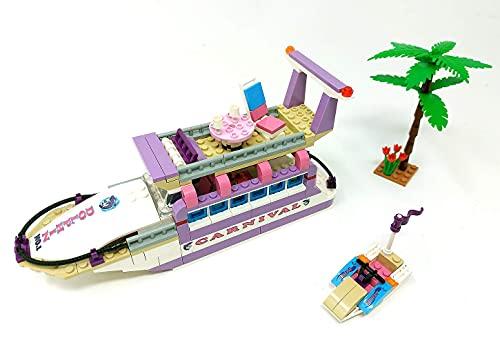 Friend Yacht - Barca con motore ad acqua e isola, 24 cm
