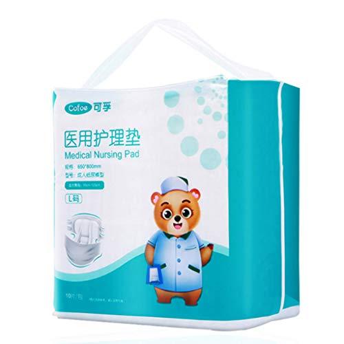 Diapers Couches adhésives pour Adultes Couches médicales âgées Couches humides spéciales Post-Partum pour Femmes Enceintes, 20 pièces, XL