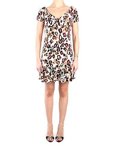 Liu Jo dames jurk fantasie luipaardmeerkleurig