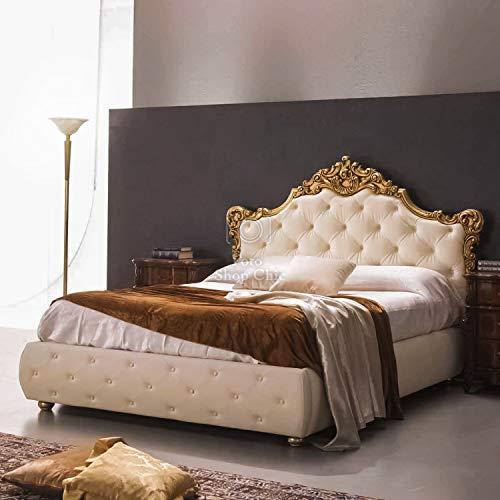 Shop Chic Letto Matrimoniale a Contenitore Barocco