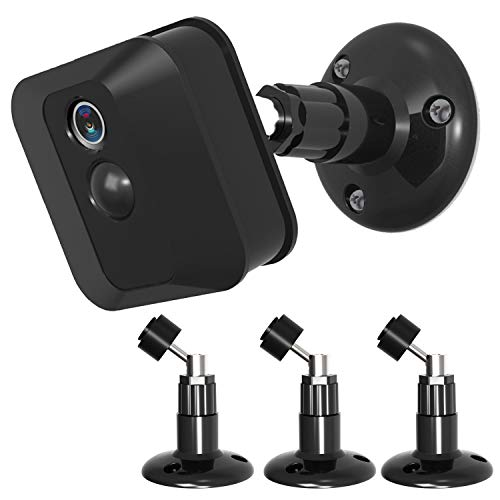 Blink XT Blink XT2 Camera Wall Mount,360 Degree Protective Adjustable Indoor Outdoor Mount for Blink XT Outdoor Camera Security System(Black)-3PACK